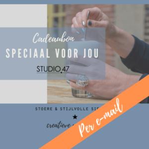 digitale cadeaubon Studio 47