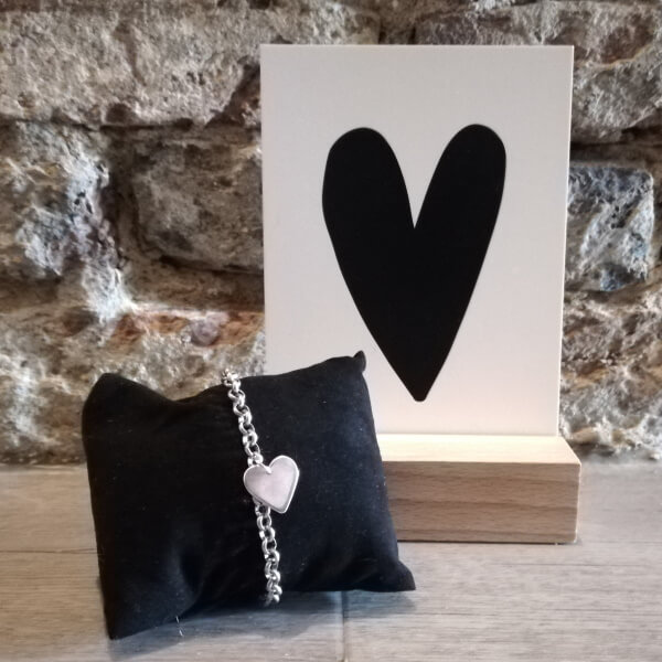 liefde per post armband met kaart